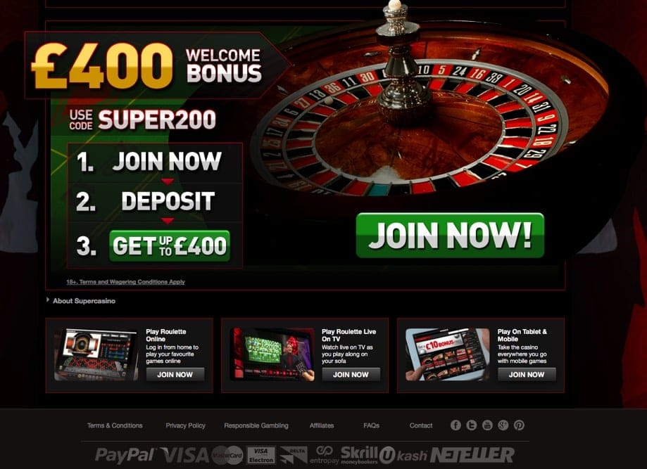 roulette with PayPal